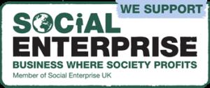 We support social enterprise