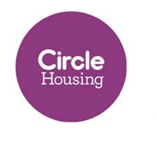 Circle housing logo