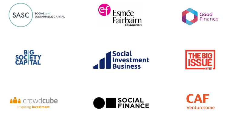 Social investment logos
