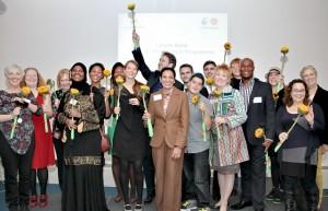 Social entrepreneurs celebrate completing the Lloyds Bank Social Entrepreneurs Programme
