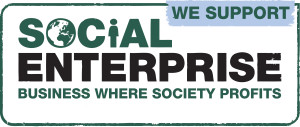 We support social enterprise SEUK membership badge