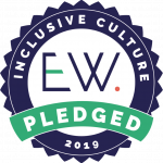 Inclusive Culture pledged, 2019 badge