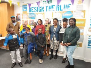Emma Snow, founder of Community Opportunity (fourth from right). Former Mayor of Southwark, Dora Dixon-Fyle is third from right.
