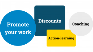 Promote your work discounts action learning coaching